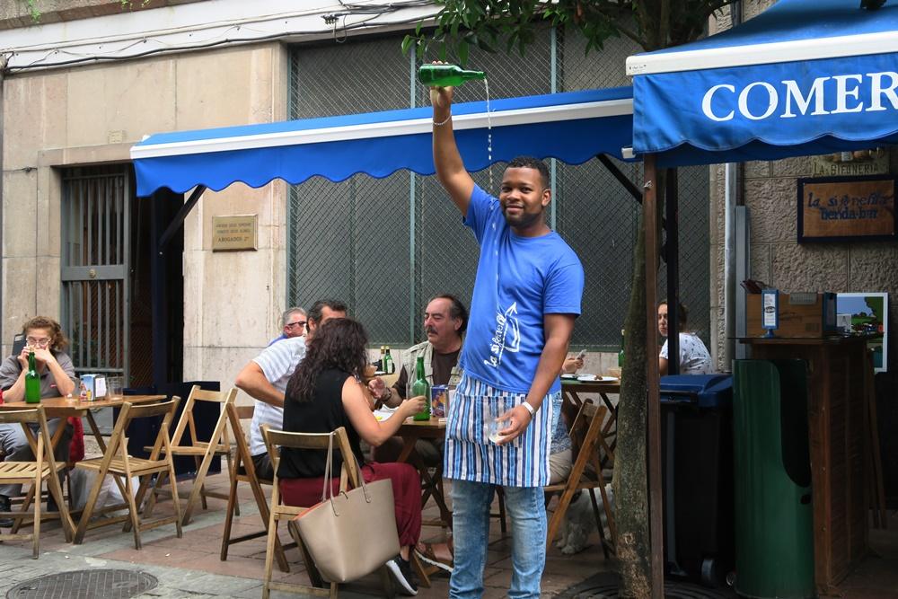06..Cangas de Onis, unser Mittagsessen-Restaurant ,fabada asturiana Nationalgericht IMG_1232 (7)
