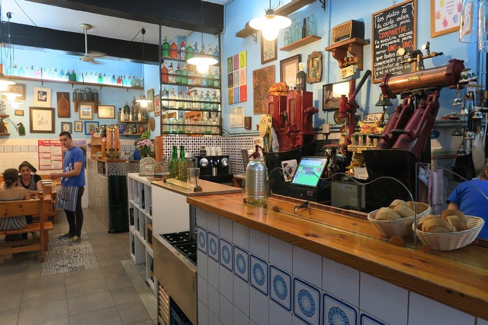 06..Cangas de Onis, unser Mittagsessen-Restaurant ,fabada asturiana Nationalgericht IMG_1232 (9)
