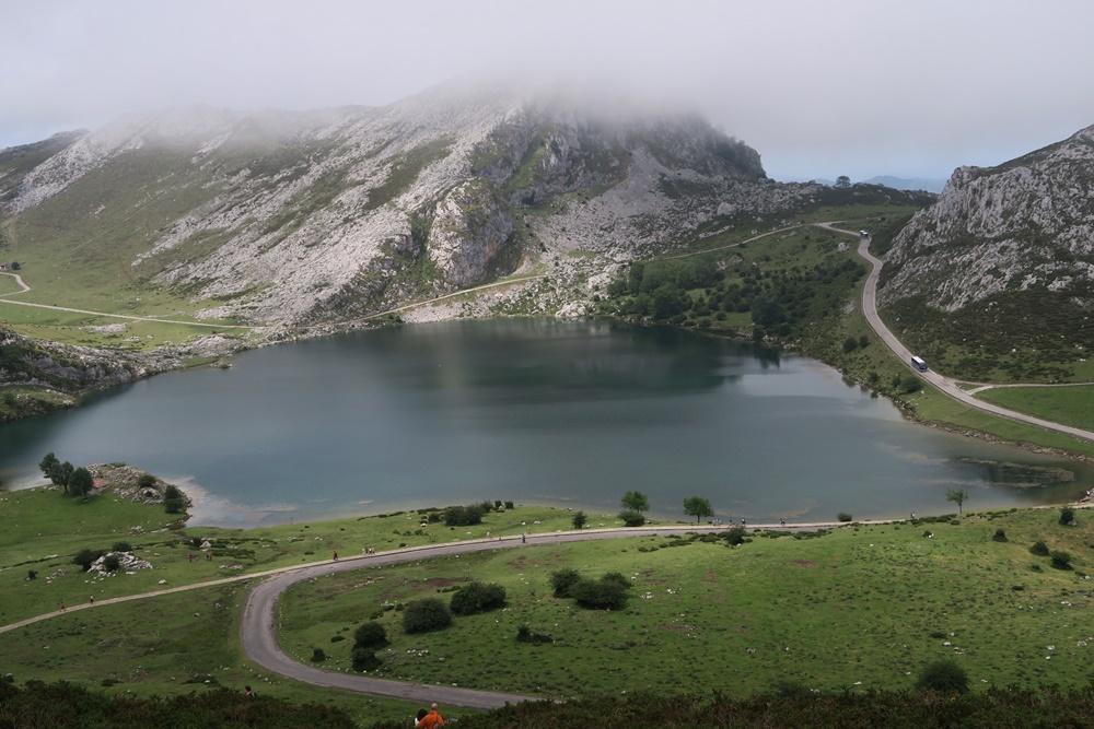 08..21.07.17 Wanderung, Lagos de Covadonga,Lago Enol 1006m hoch IMG_1257 (55)