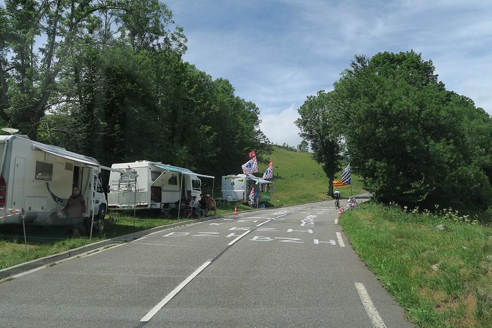 1..Am Col de Peyresoùrde, warten auf Tour de France IMG_0644 (9)